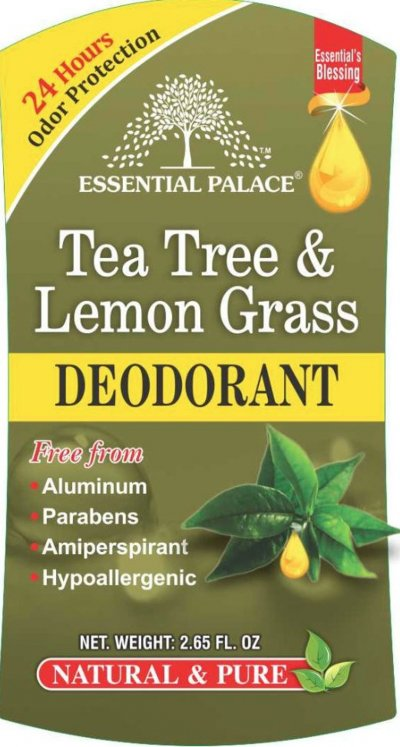Tea Tree & Lemongrass Deodorant