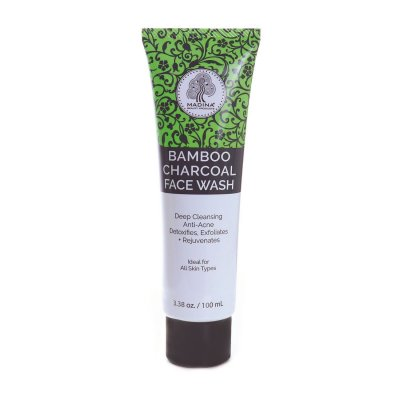 Bamboo Charcoal Face Wash - 100 mL