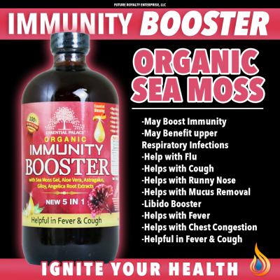 Organic Sea Moss Immunity Booster