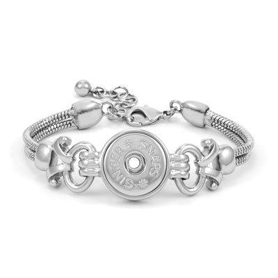 Ginger Snaps Royal 1-Snap Bracelet