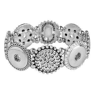 Ginger Snaps 4-Snap Stretch Bracelet