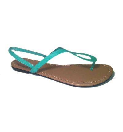 Thong Bow Sandals - Mint