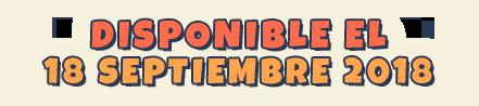 Disponible en 18 Septiembre 2018