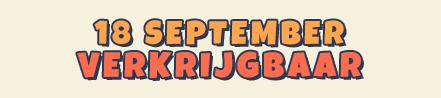 18 september verkrijgbaar