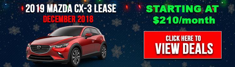 Mazda CX-3 Lease Deals NH