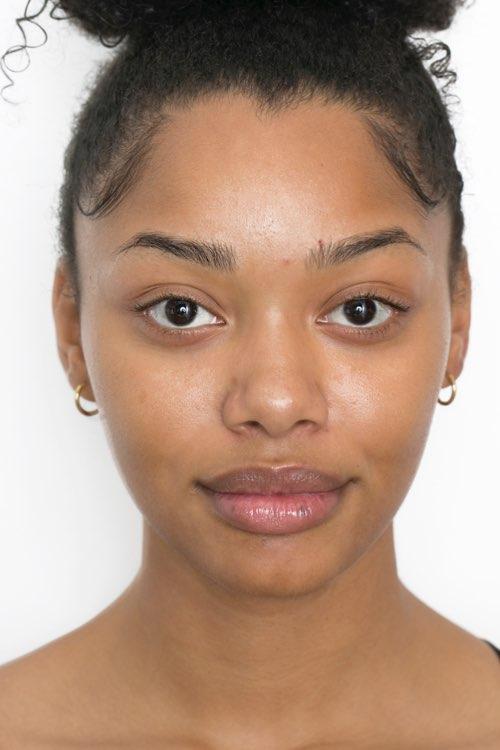 Models with dark skin tones