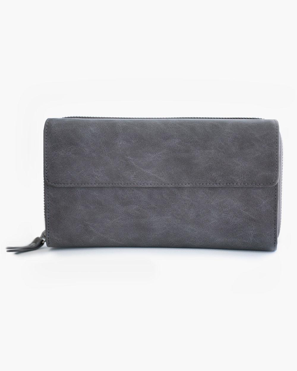 Clutch Wallet - Charcoal