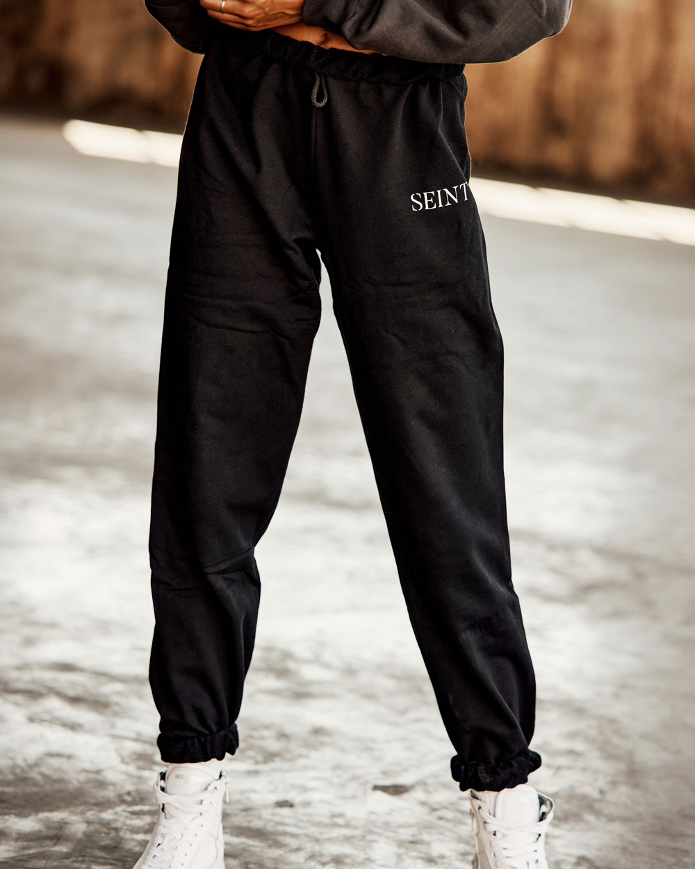 Sweatpants - Black - XS