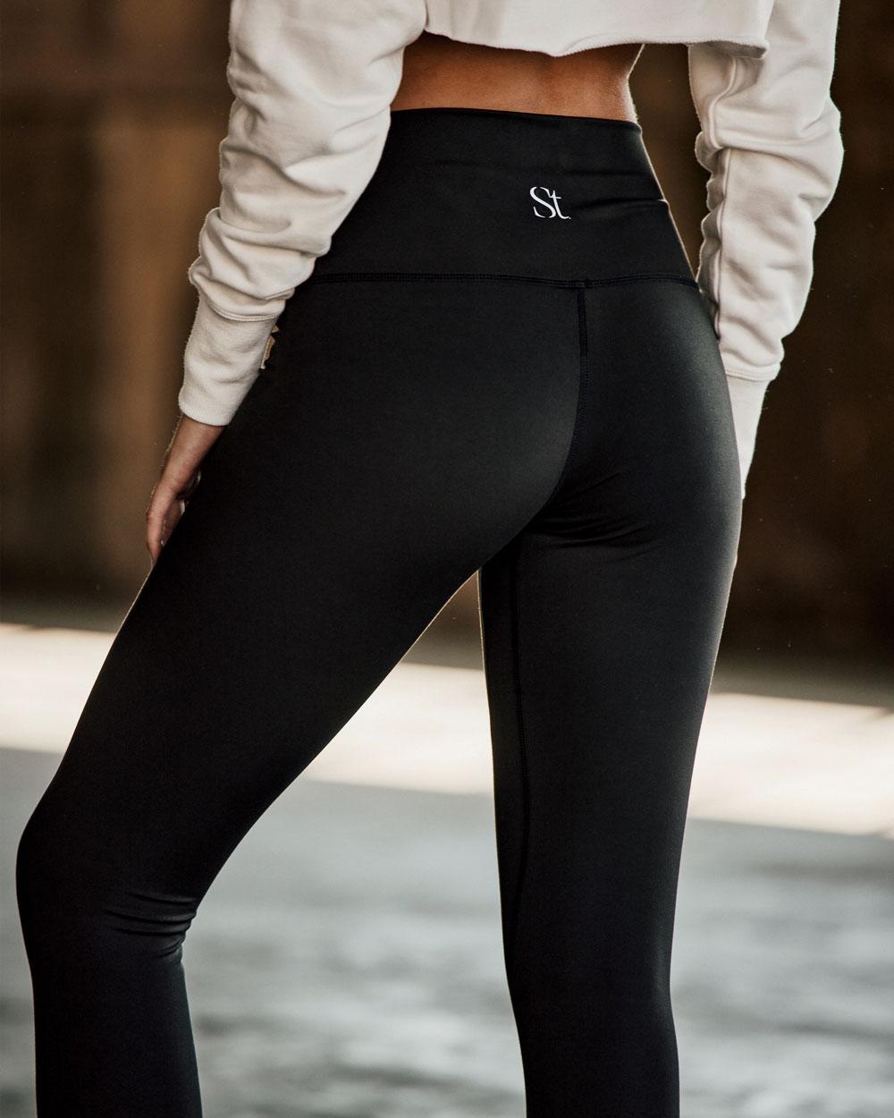 Yoga Pants - Black - XS