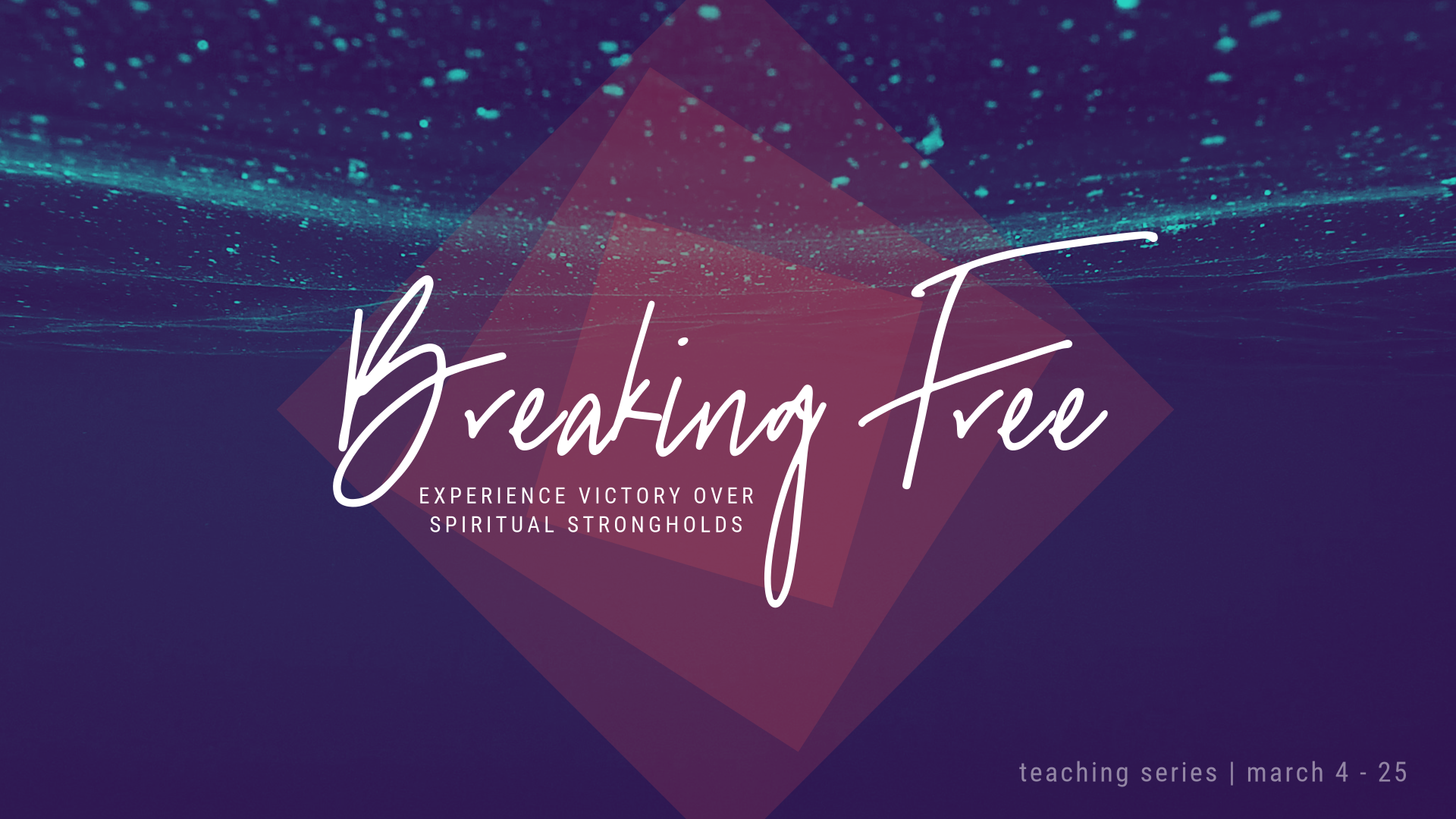 Breaking Free – Pt. 1 – Paul Maconochie