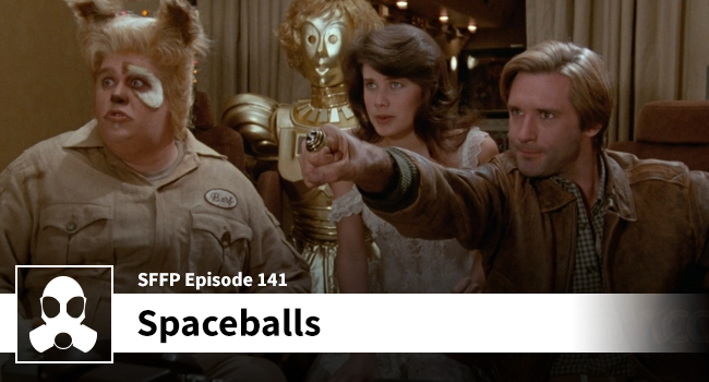 141: Spaceballs - Movie Podcast by LSG Media - Film Review