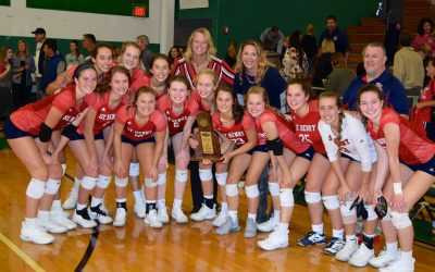St. Henry wins five-set match against Notre Dame to claim second straight 9th Region volleyball title