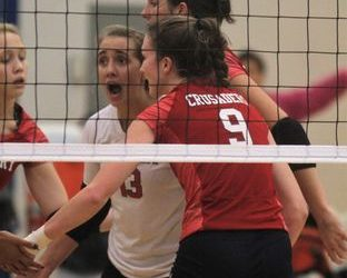 St. Henry settles nerves in first victory at state tournament