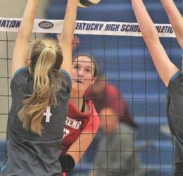 Crusader Makes Enquirer's Volleyball Top 5 List