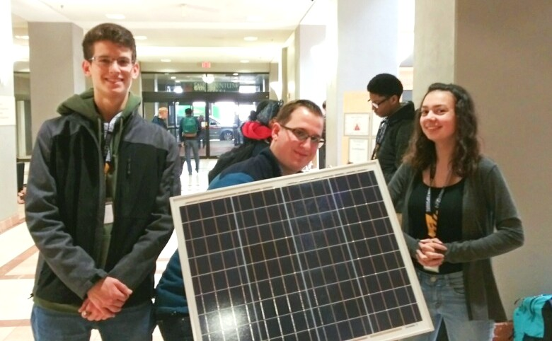 2019 Tech Olympics_solar panel_Patrick Cummings, Zoe Robles, Brent Amend