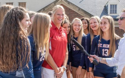 St. Henry's Kaiser is Volleyball Coach of the Year
