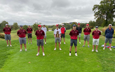 Boys Golf Team Wins Regional Title