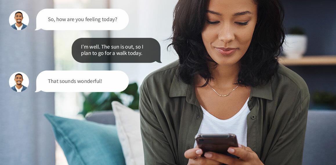 Conversational ai feature