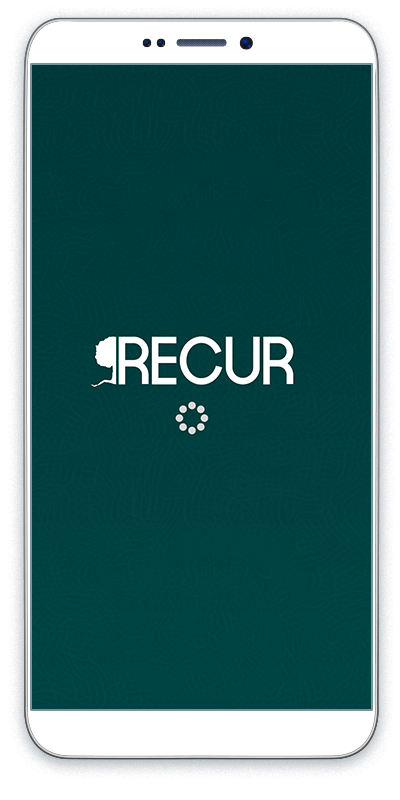 Recur iphone main