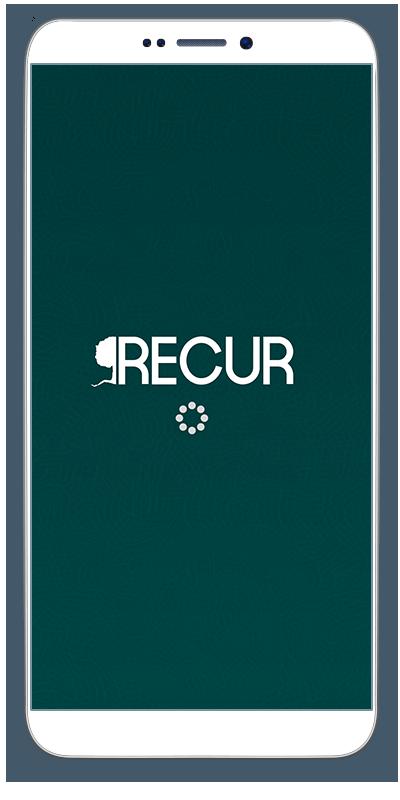 Recur iphone main