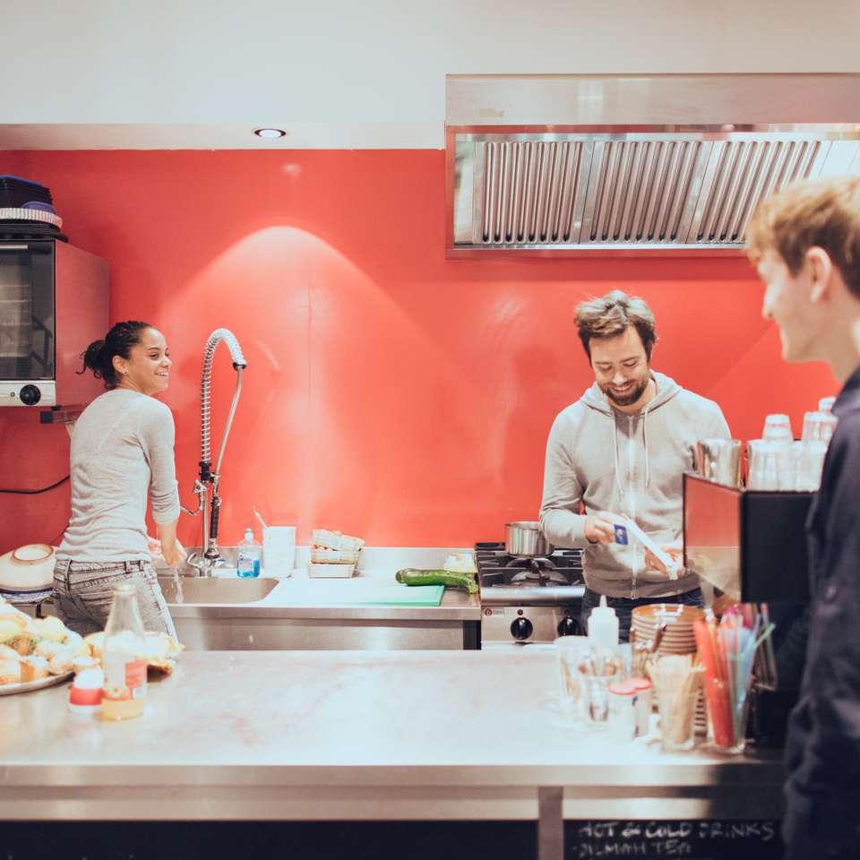 Kitchen at Framer HQ