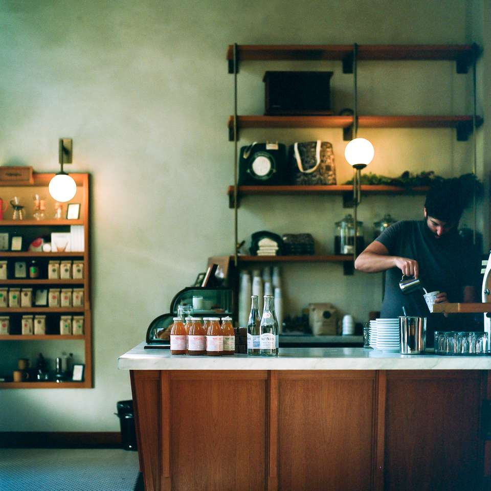 Cappuccino Pour