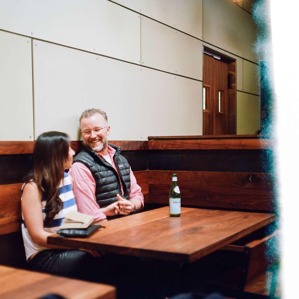Sonya Yu and Zack Lara