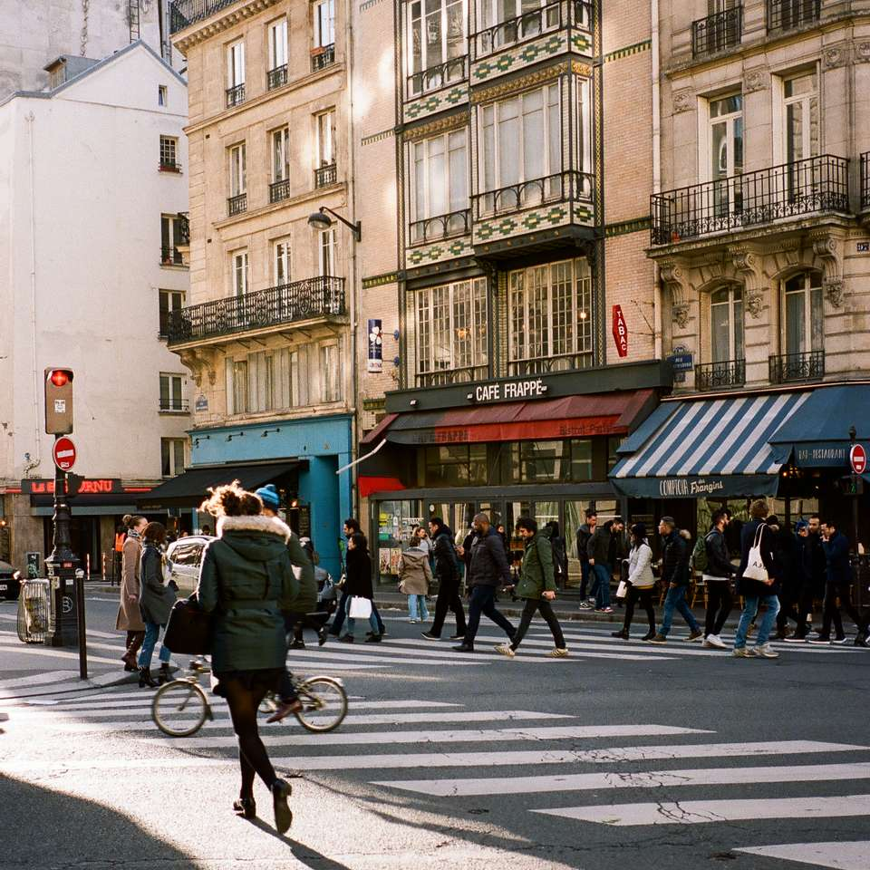 A Crossing in Paris