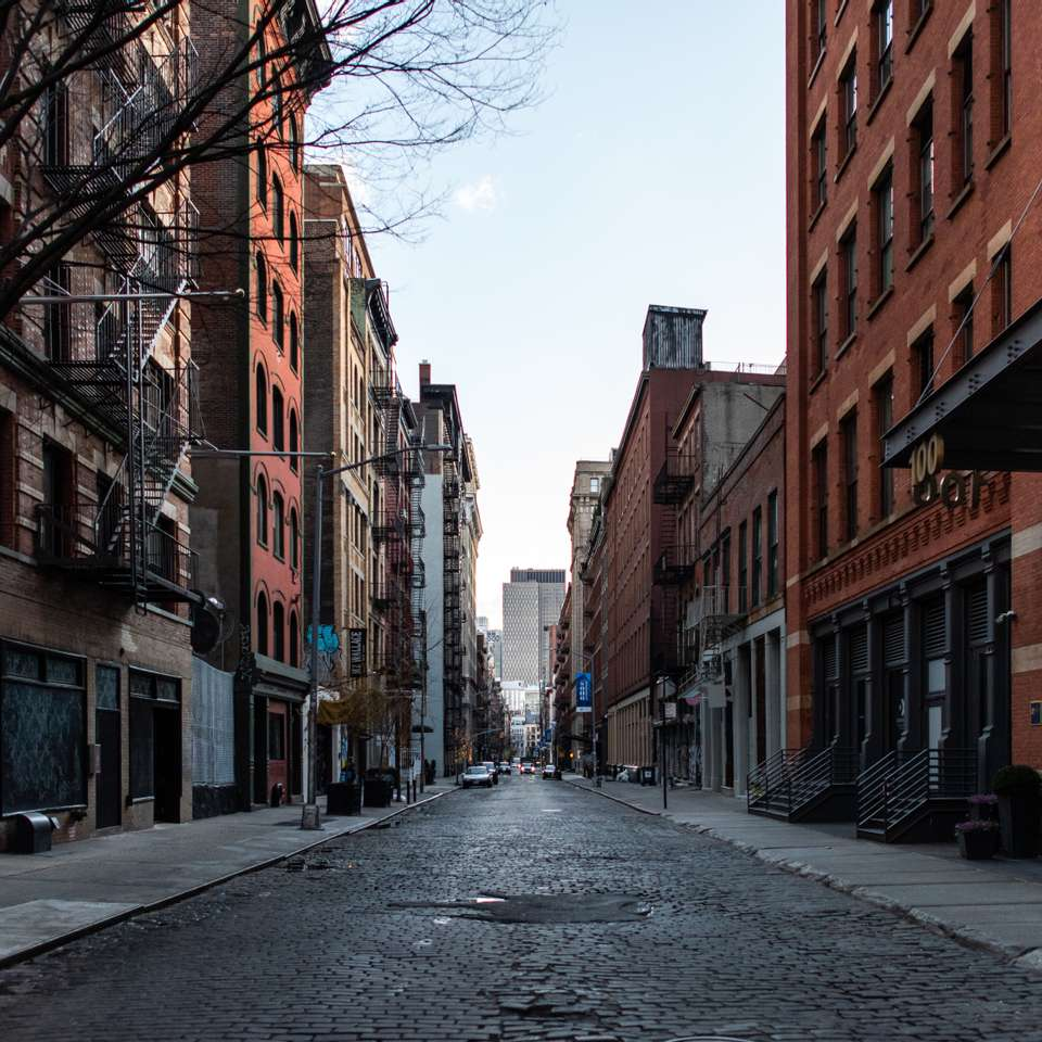 Empty SoHo During Lockdown