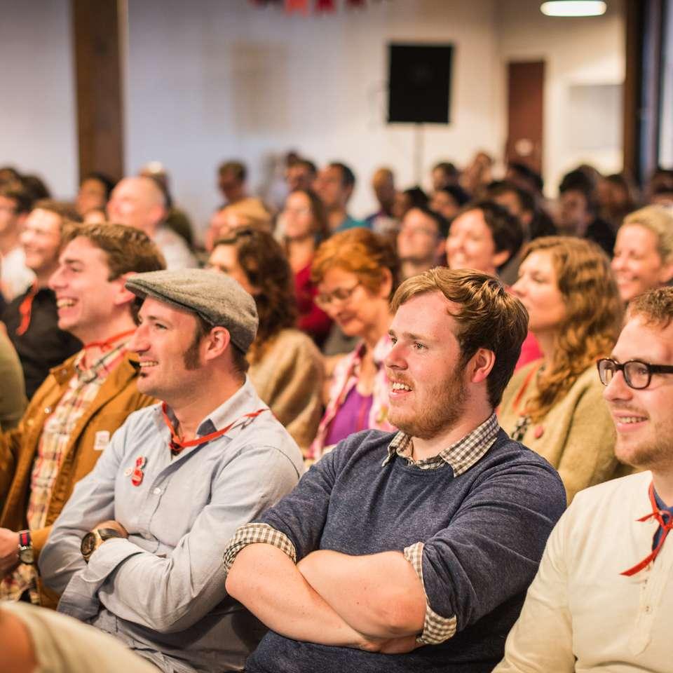 Crowd (David Parsons, Kilian McMahon, Kyle Meyer)