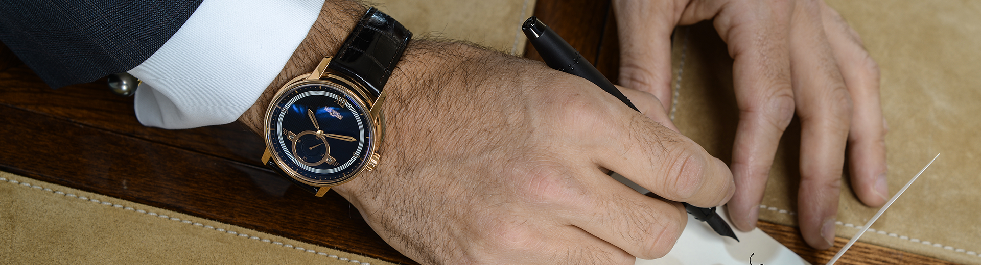 The DeWitt Academia Small Second Rose Gold – Simple Sophistication Defined