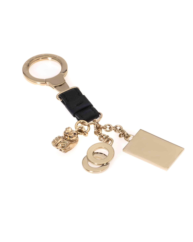 Bvlgari B Zero Sterling Silver Band Key Chain 30275