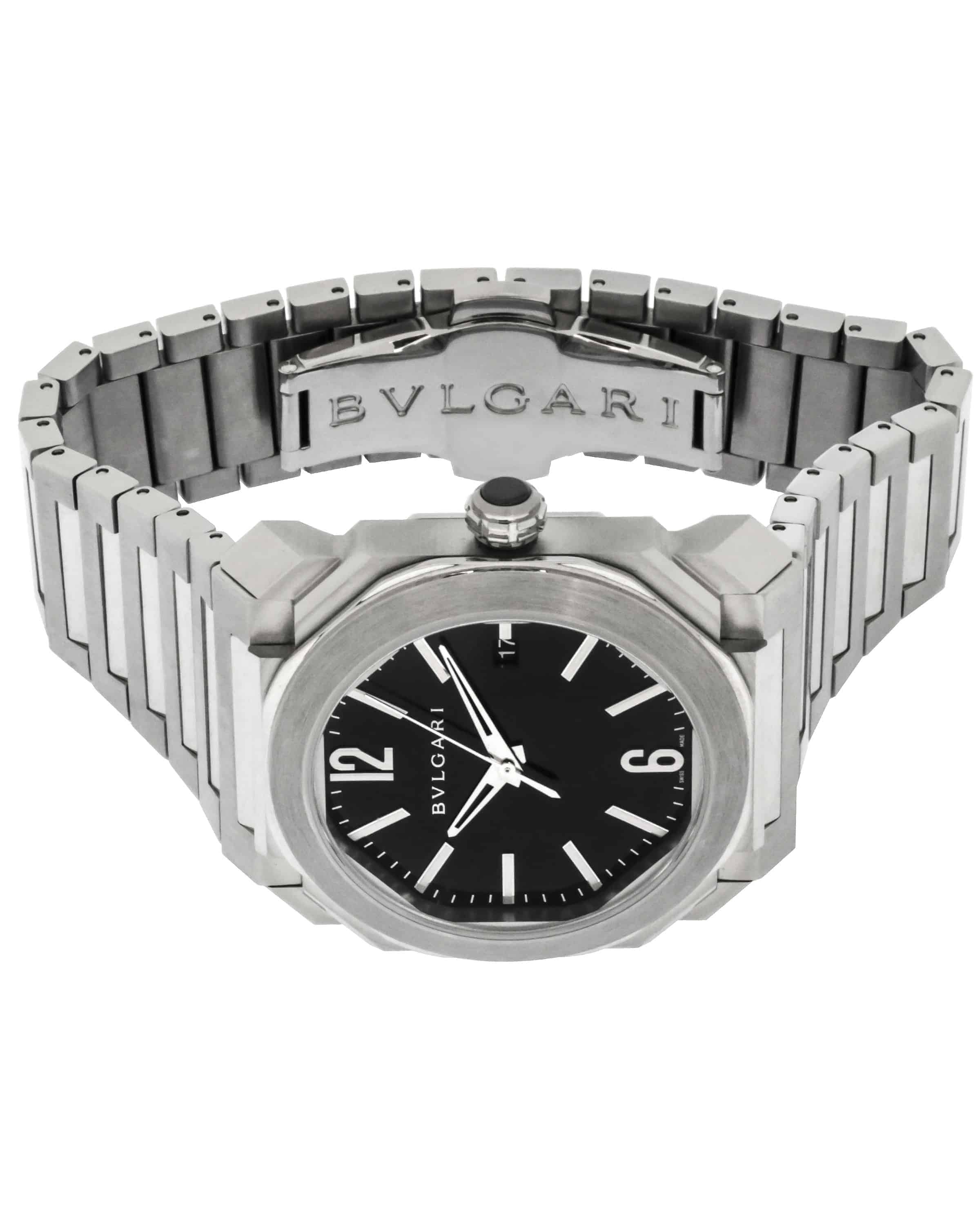 Bvlgari Octo 38mm Automatic Men's Watch BGO38BSSD