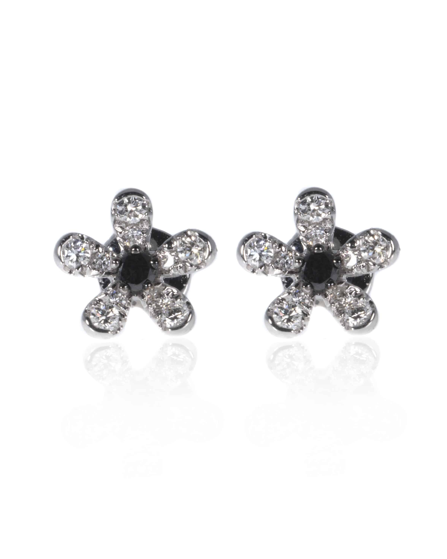 Crivelli 18k White Gold Diamond Earrings 117-OR417-99480110