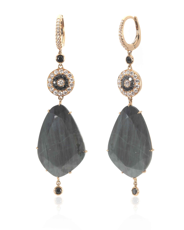 Crivelli 18k Rose Gold Diamond Earrings 212-N344-74234056