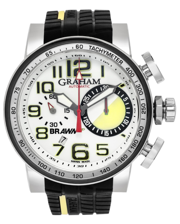 Graham Trackmaster Year One Brawn GP Chronograph Automatic Men's Watch 2BRYO.W01A