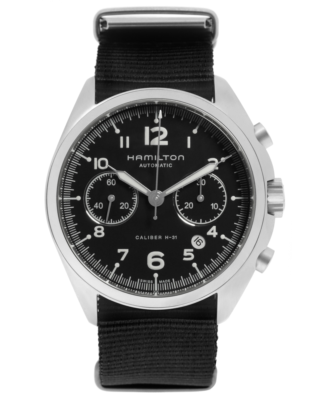 Hamilton Khaki Pilot Pioneer Chronograph Automatic Men's Watch