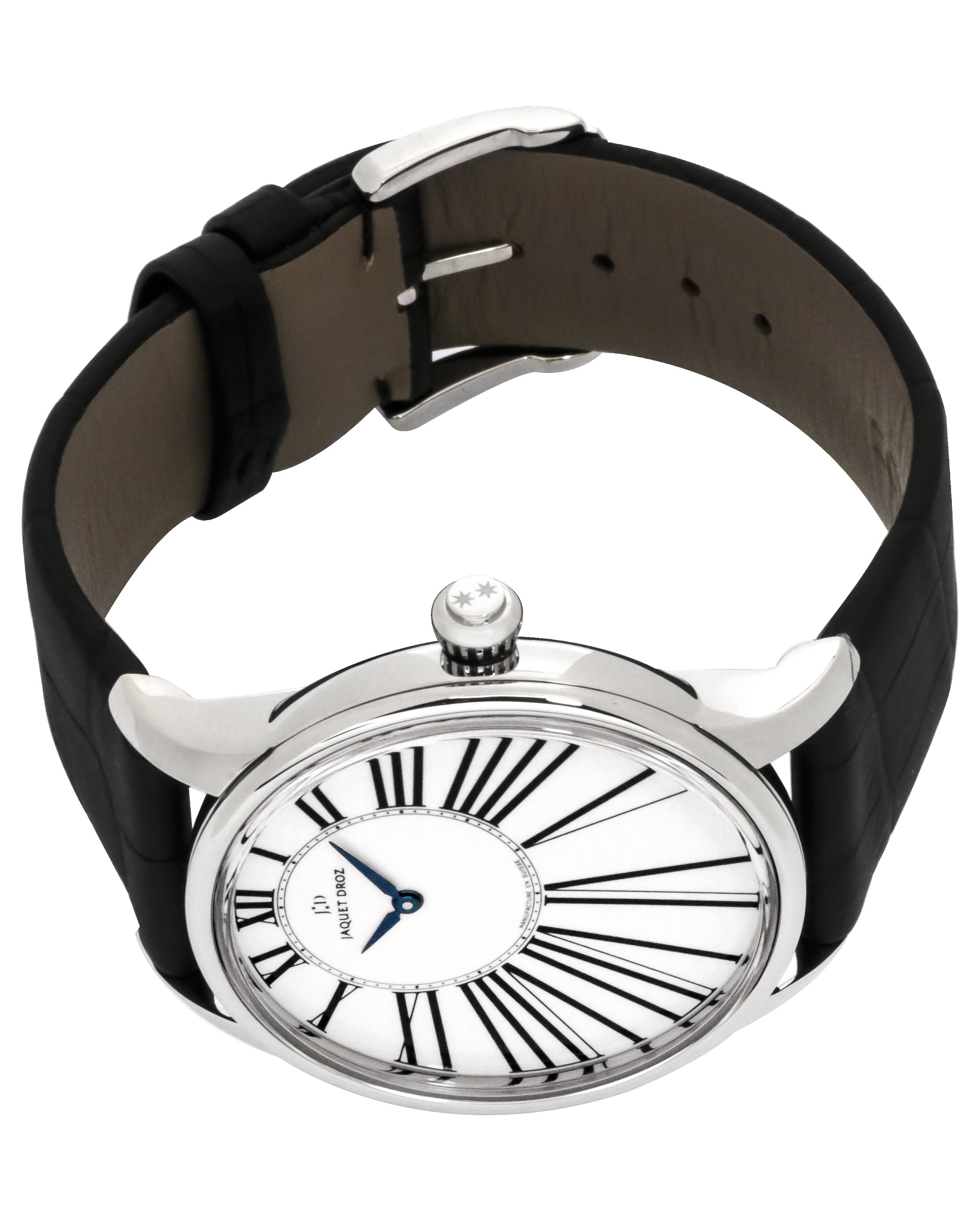 Jaquet Droz Petite Heure Minute Stainless Steel Automatic Men's Watch  J005020202