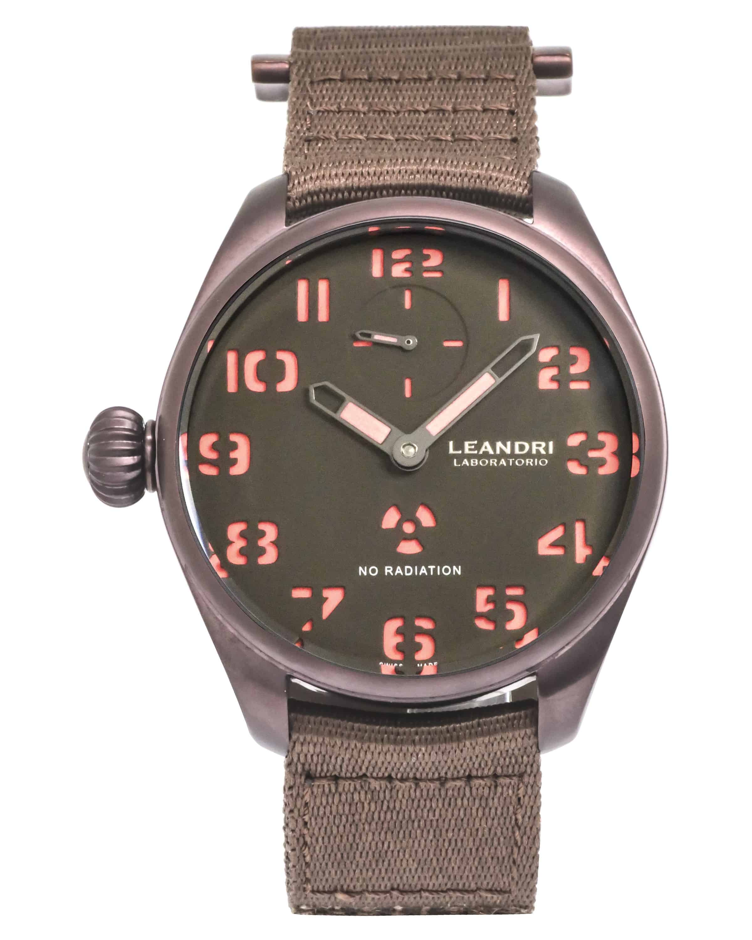 Leandri Laboratorio Manual Wind Men's Watch