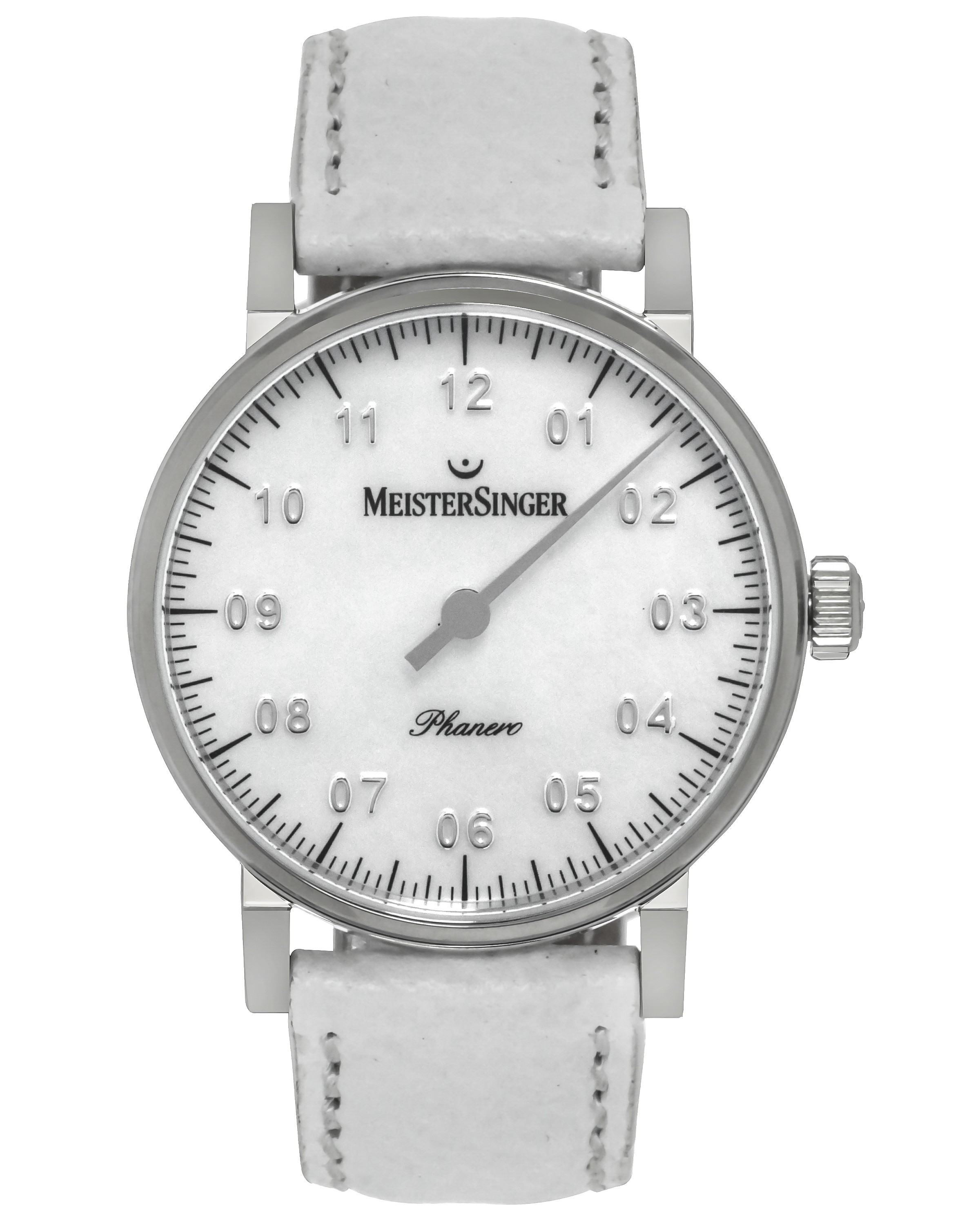 MeisterSinger Phanero Mother Of Pearl Dial Manual Wind Ladies Watch PHM1C