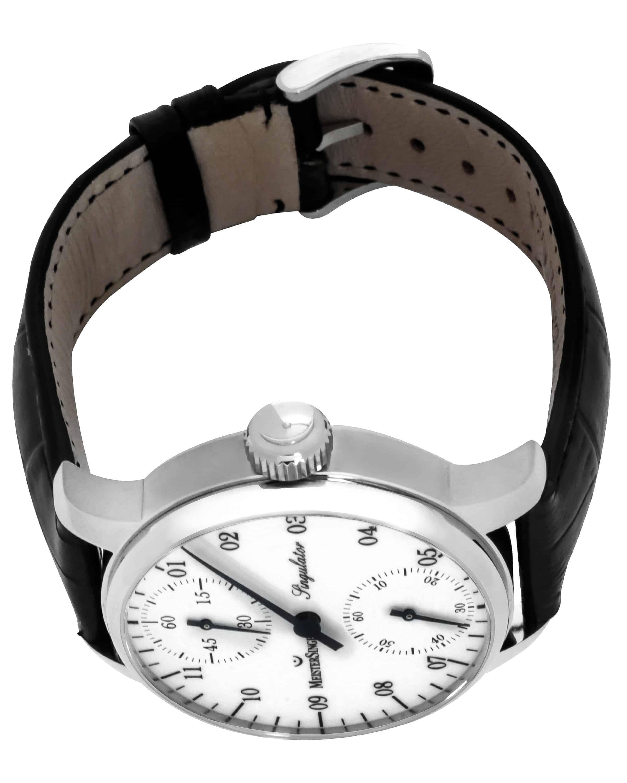 MeisterSinger Singulator White Dial Manual Wind Men's Watch SIM101