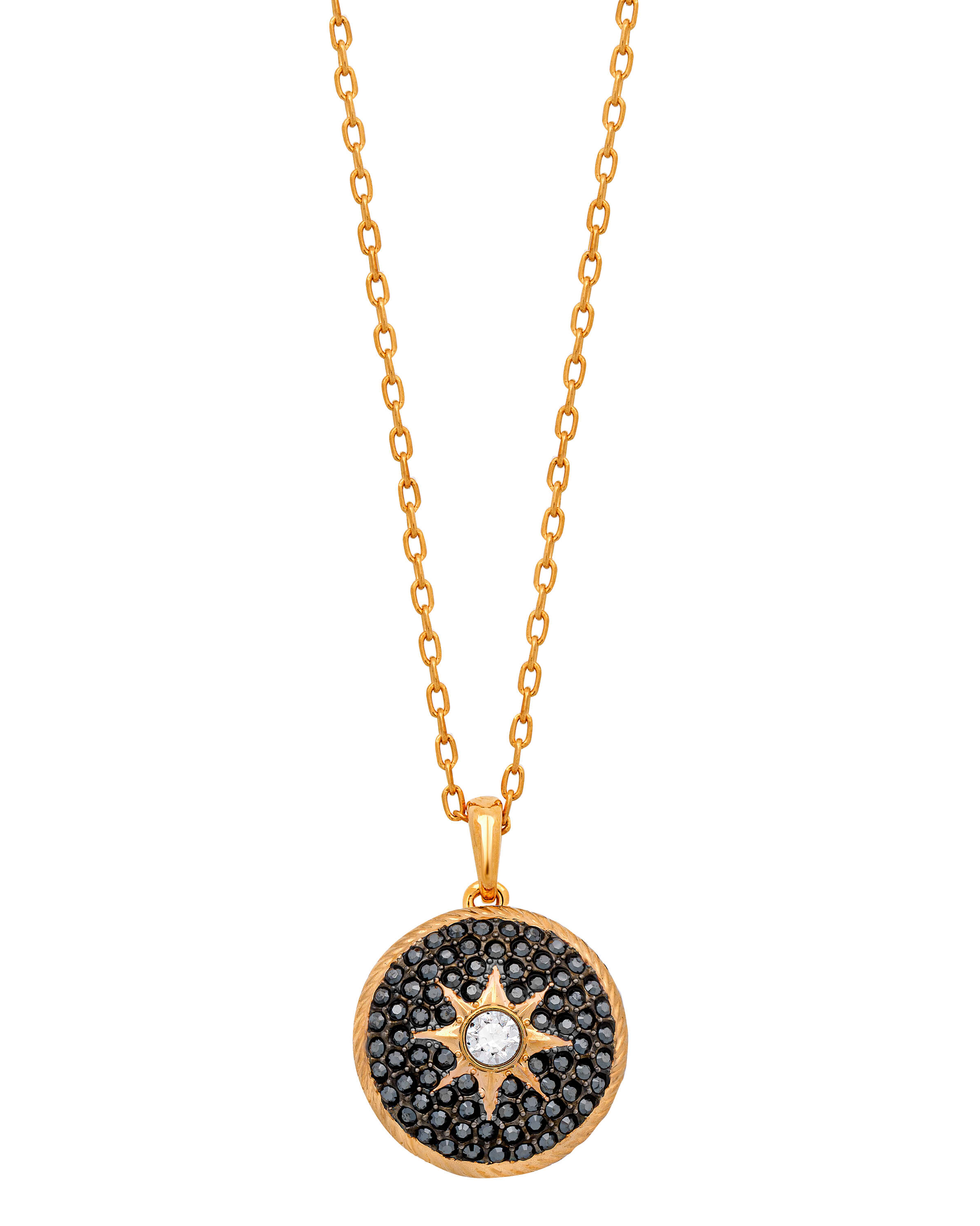 Swarovski Rose Gold Plated Crystal Necklace