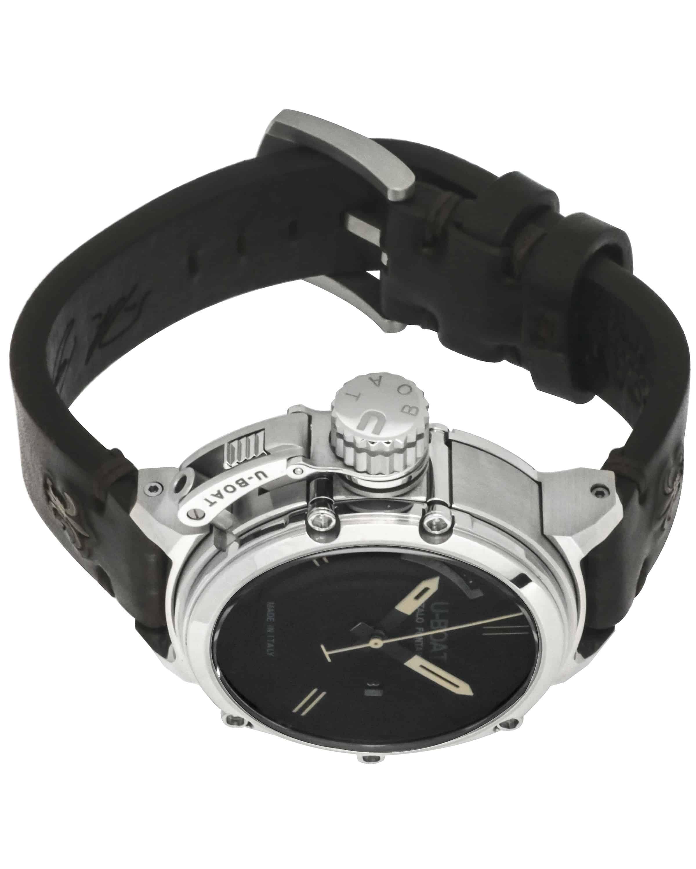 U-Boat Chimera Day/Date Black Dial Automatic Men's Watch 7534