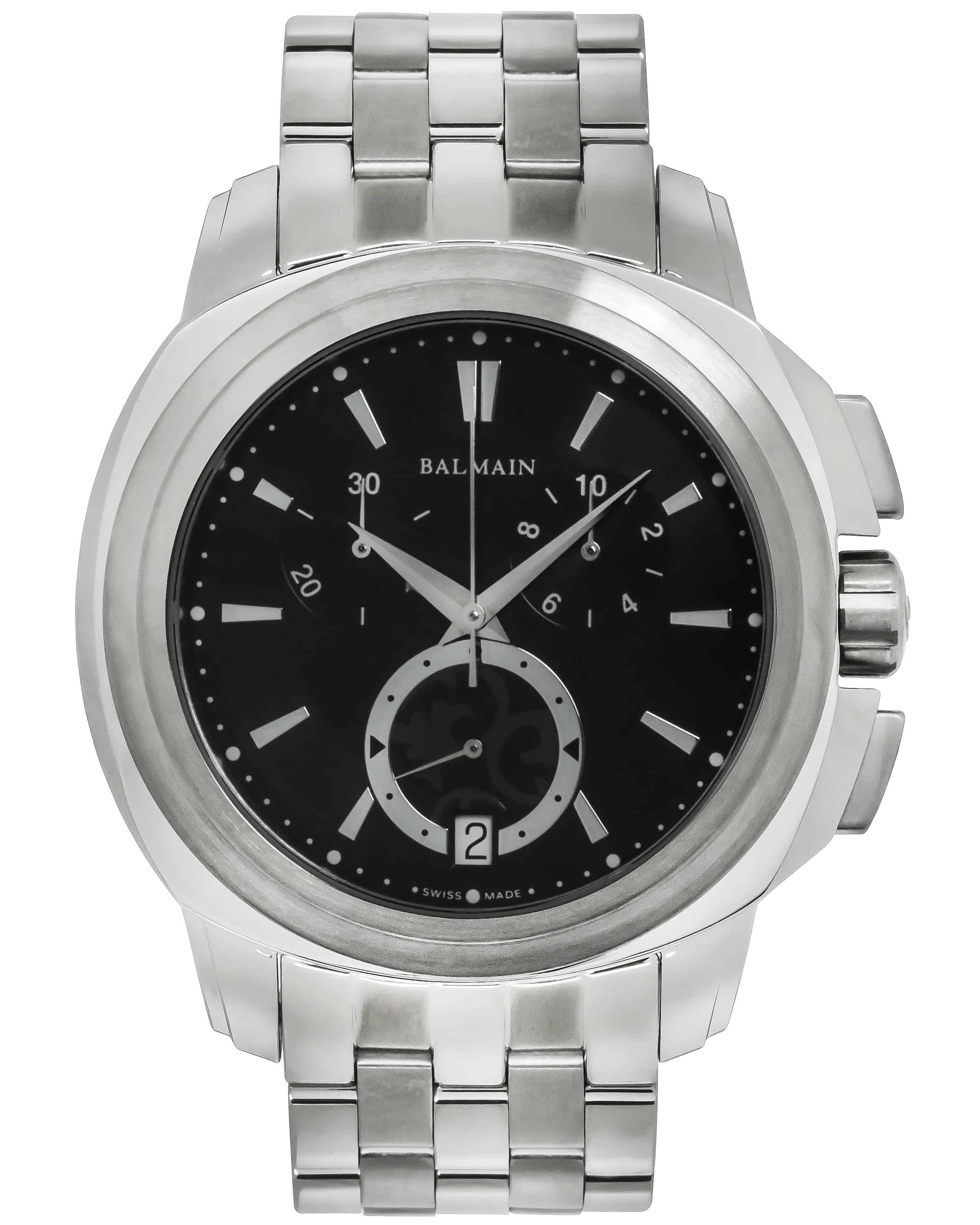 Balmain Madrigal Chrono Stainless Steel Quartz Men's Watch (B53413366)