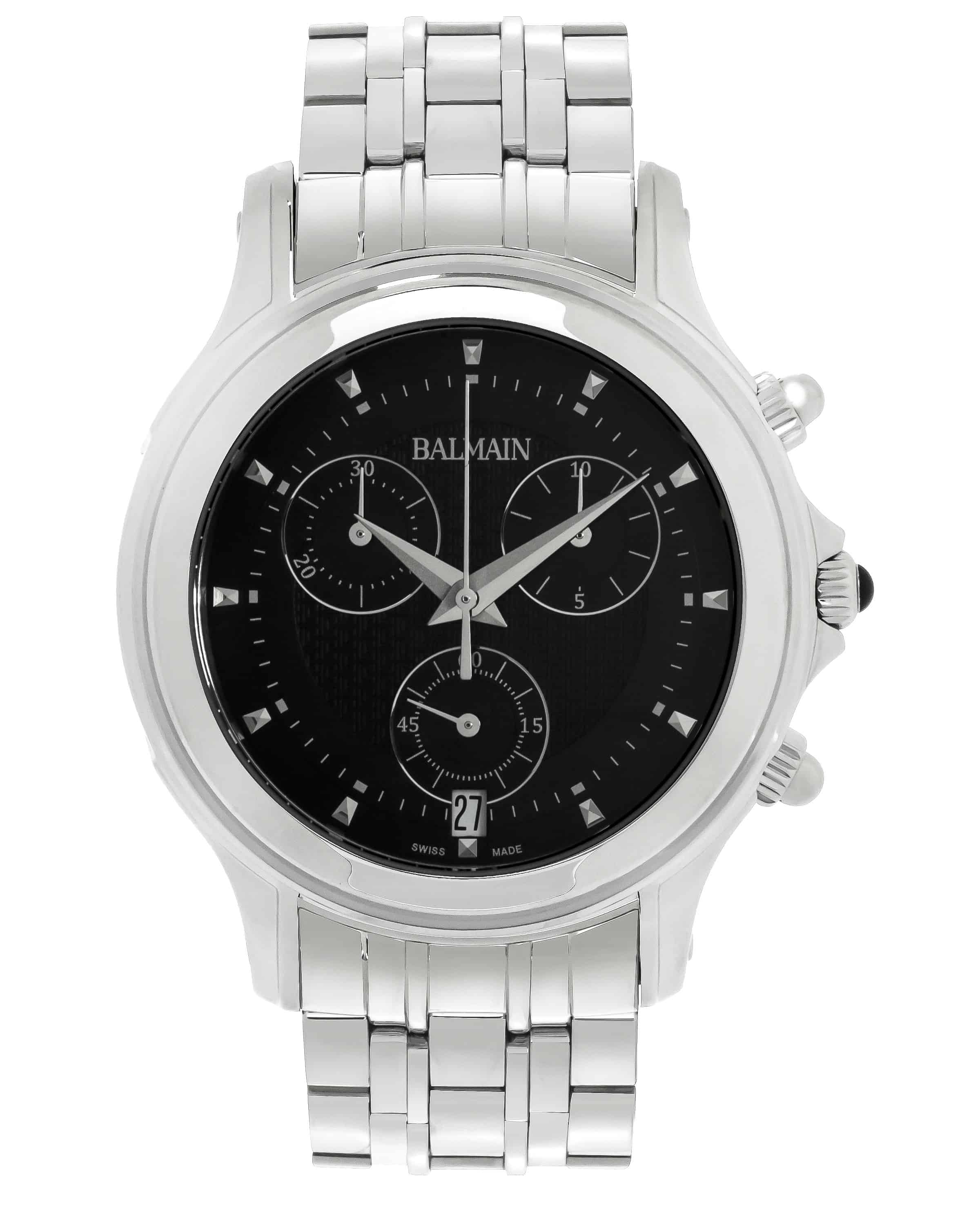 Balmain Eria Chrono  Stainless Steel Quartz Men's Watch B68613366