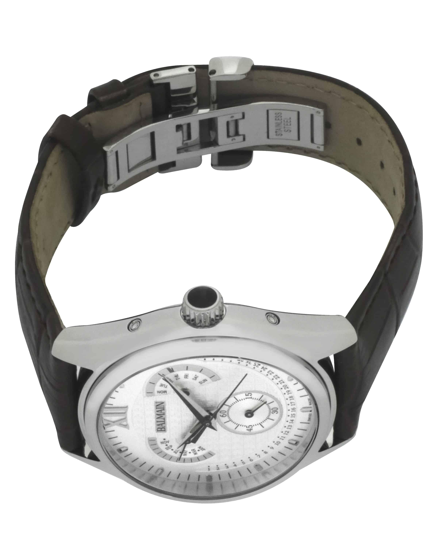 Balmain Balman Perpetual Calender Stainless Steel Quartz Men's Watch B72815222