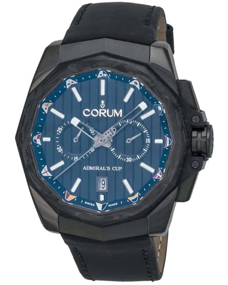 Corum Admirals Cup AC One 45 Chronograph Men's Watch – 116.101.36/OF61.AN20