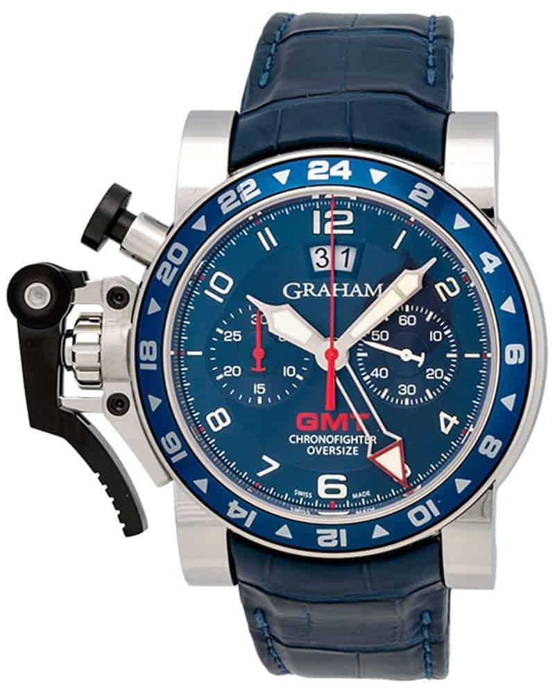 Graham Chronofighter Oversize GMT Chronograph Men's Watch – 2OVGS.U06B