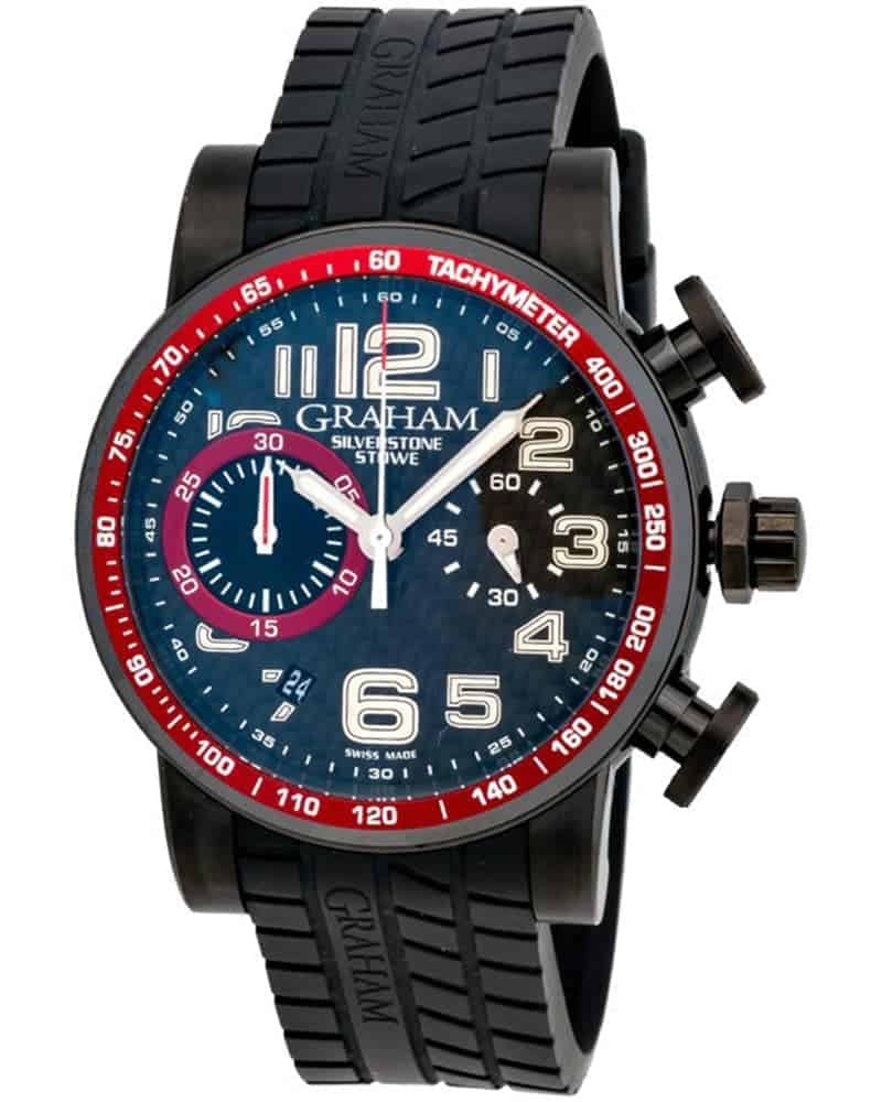 Graham Silverstone Stowe 44 Chronograph Automatic Men's Watch – 2SAAB.B01A