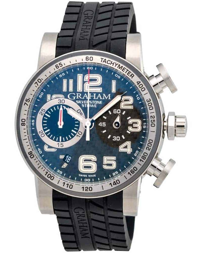 Graham Silverstone Stowe 44 Chronograph Automatic Men's Watch – 2SAAC.B03A